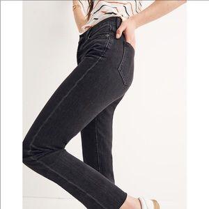 Madewell Black Light Wash Skinny Skinny Jeans 26